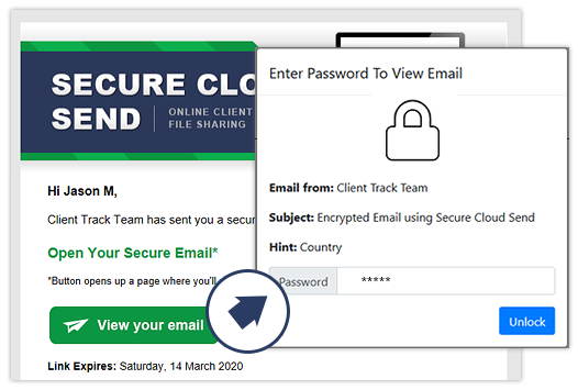 Portal - Secure Email Notification